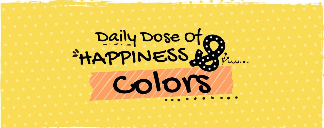 Daily dose of happiness and colors - colorful zone