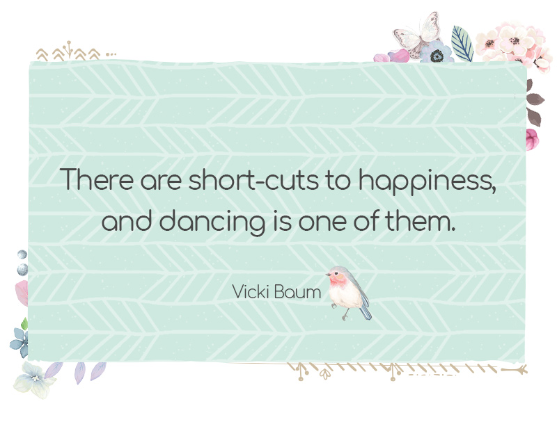 6 Colorful Thoughts to Inspire You to Start Dancing