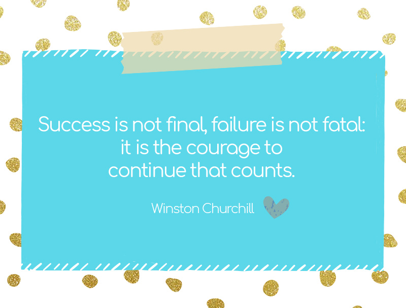 6 Colorful and Inspirational Quotes That Make You Bouncing Back Stronger After Failure