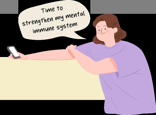 Digital mental health vitamins