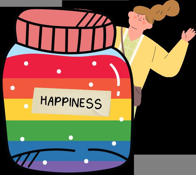 LGBTQ community happiness